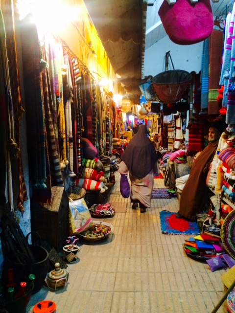 Christmas shopping in the souks