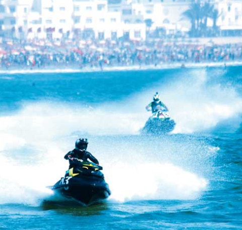 World Jet Ski Championship in Agadir